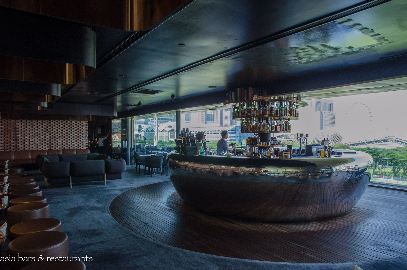Smoke Amp Mirrors Progressive Cocktail Bar At National