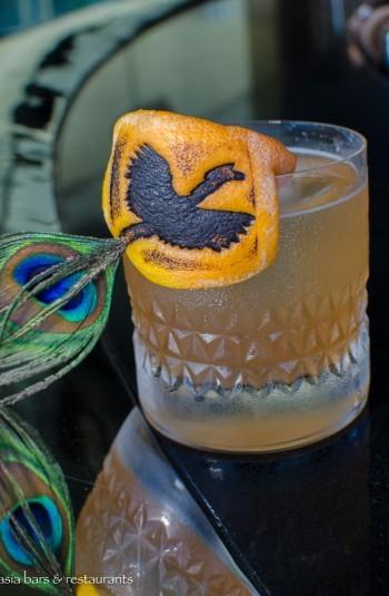 smoke & mirrors cocktail