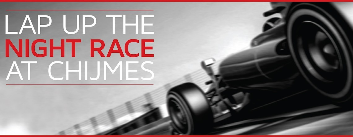 chijmes F1 race week promotion