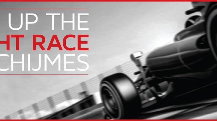 chijmes F1 race week promotion