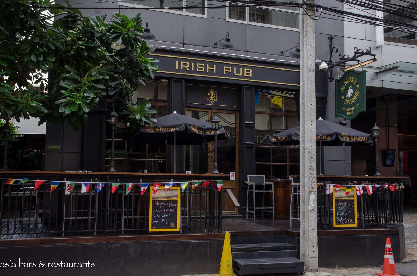 the drunken leprechaun Irish pub