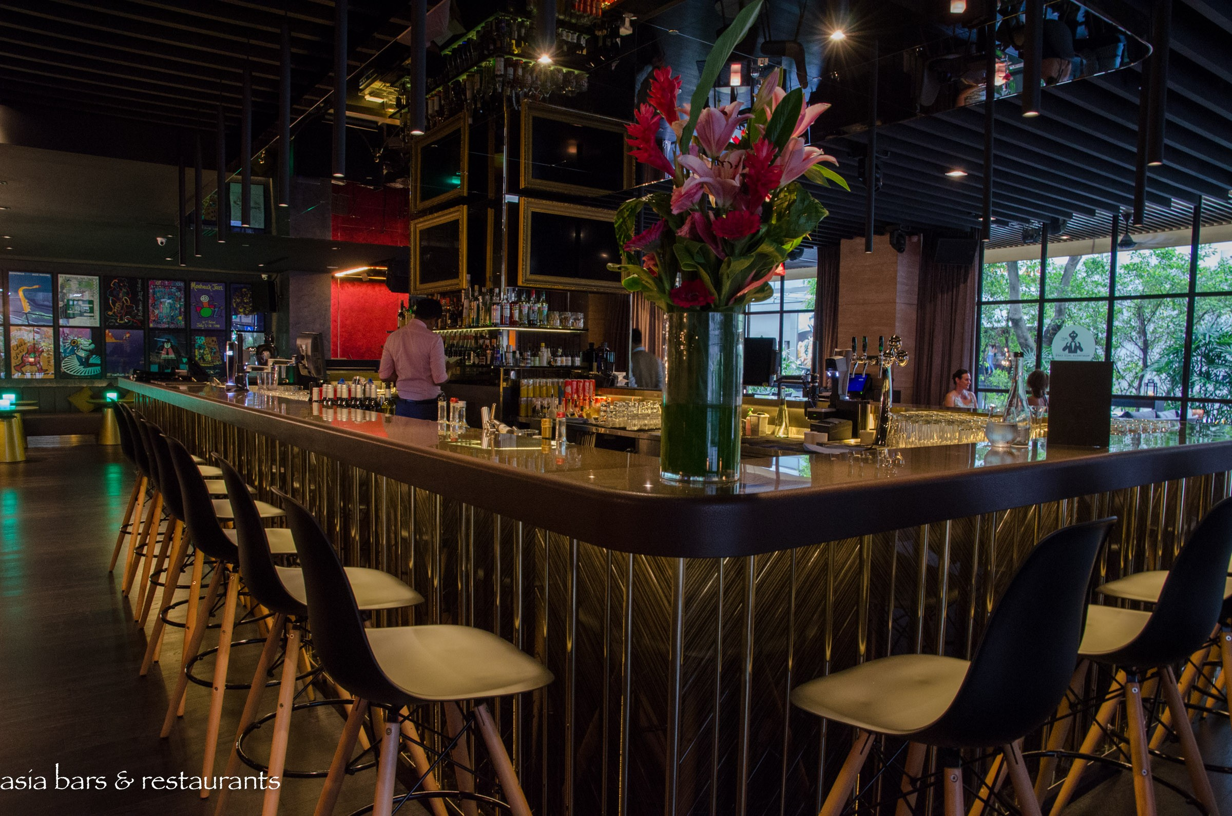 Montreux Jazz Cafe Singapore Restaurant Amp Bar Inspired