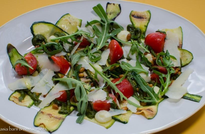 FOC Sentosa - zucchini carpaccio