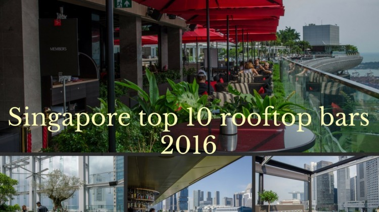 Singapore top 10 rooftop bars 2016