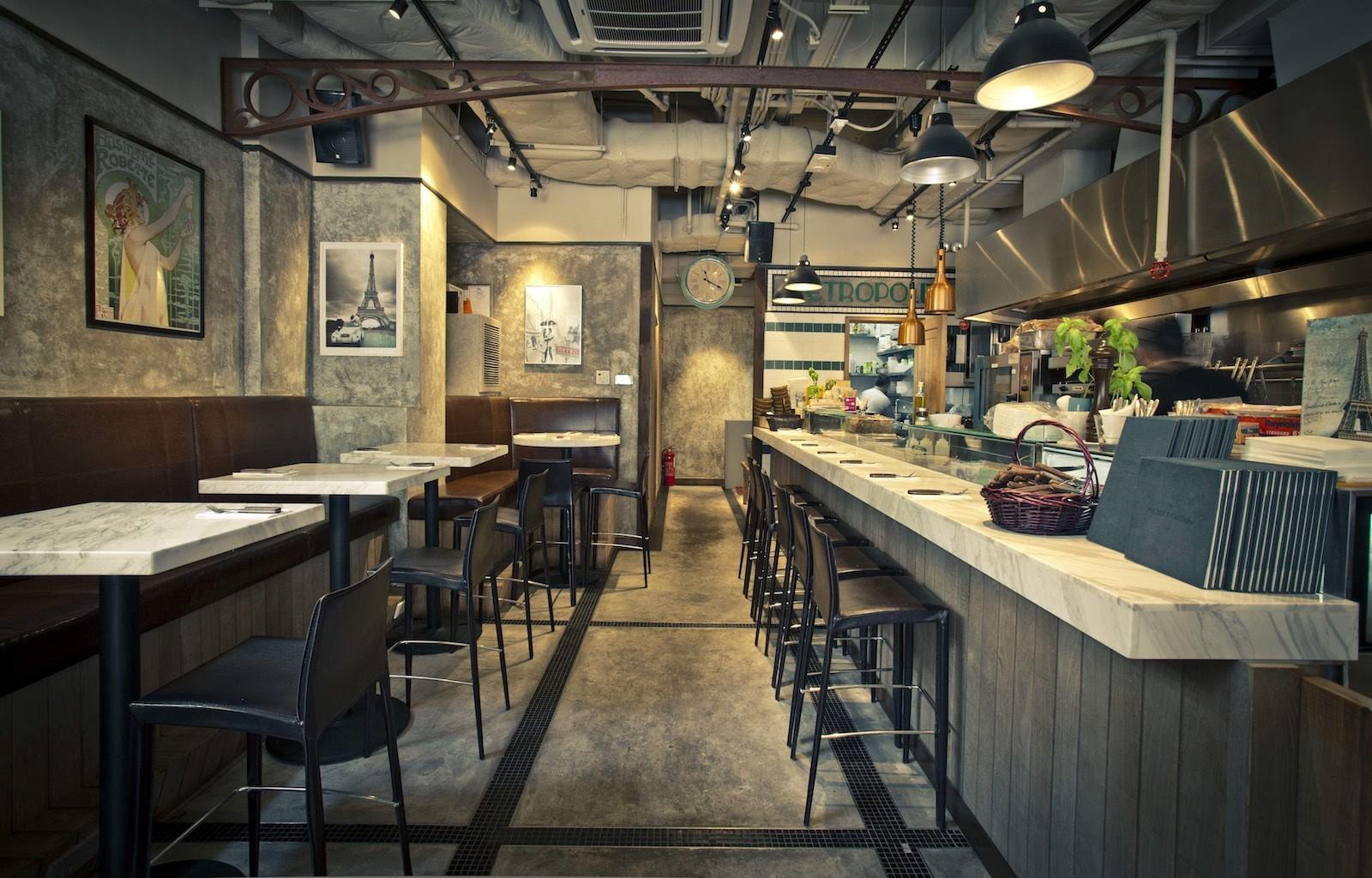 Metropolitain Parisian Style Cafe Hong Kong Asia
