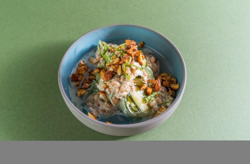 CJ Zucchini Faro Salad