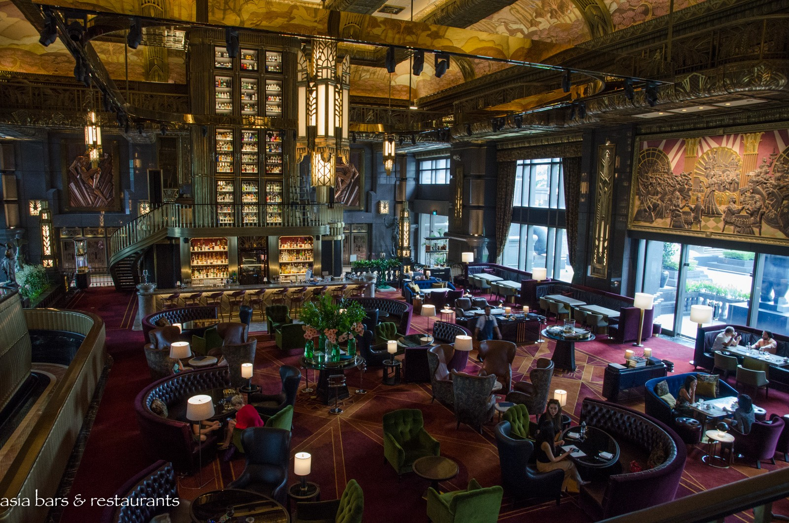 Atlas Grand Lobby Bar In Singapore Asia Bars Restaurants