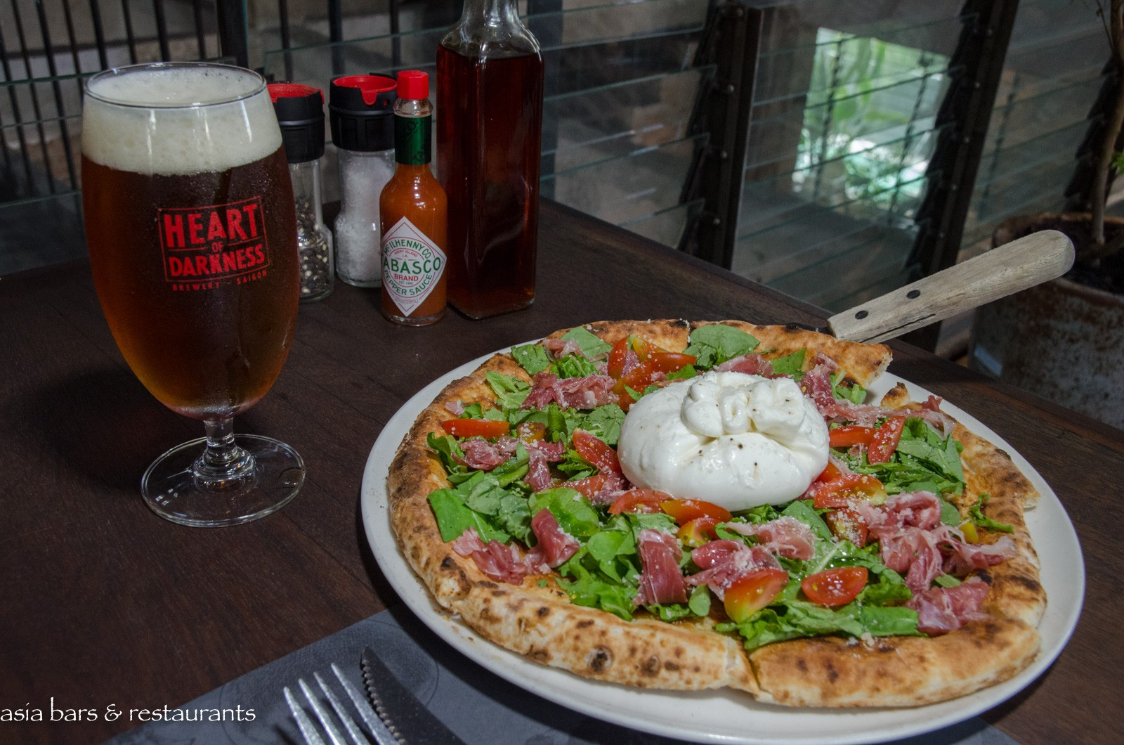 Pizza 4ps Japanese Style Gourmet Pizza At Ben Thanh In