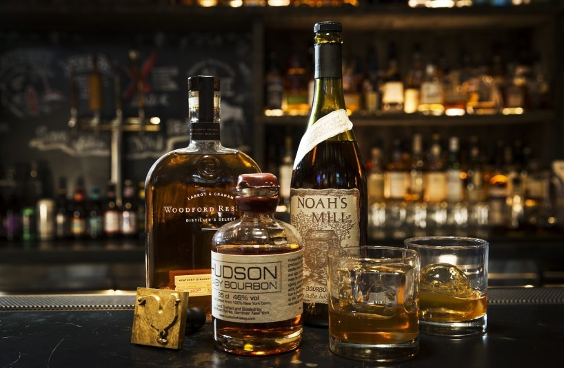 bourbon and whiskey