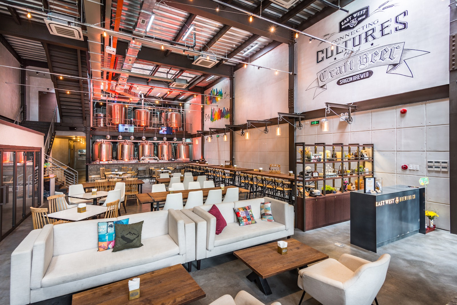 East West Brewing Co Craft Brewery Taproom And Restaurant In Saigon Asia Bars Restaurants