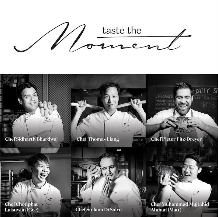taste the moment jw marriott