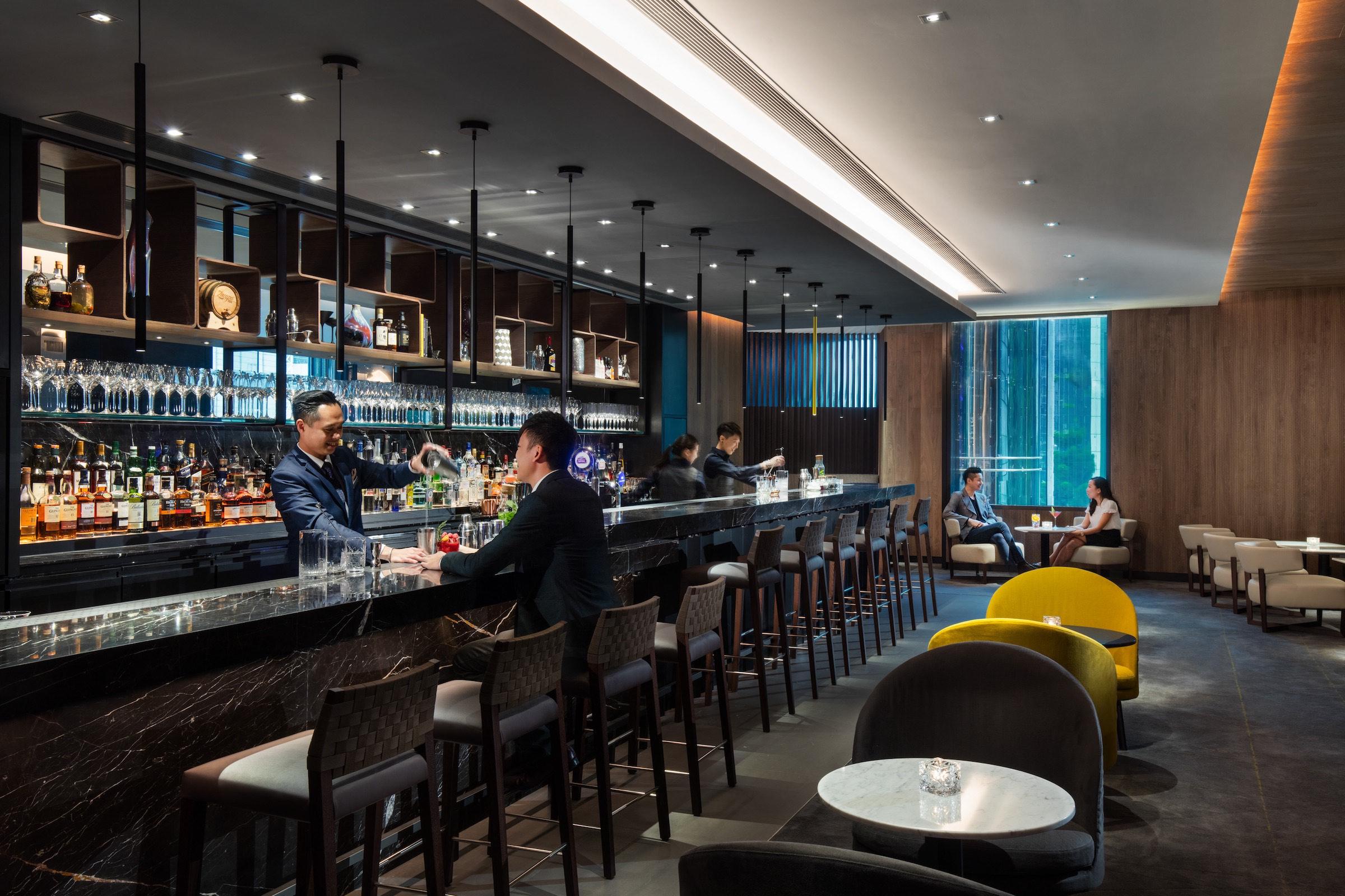 Bar Q88 Cocktail Bar At Jw Marriott Hong Kong Asia
