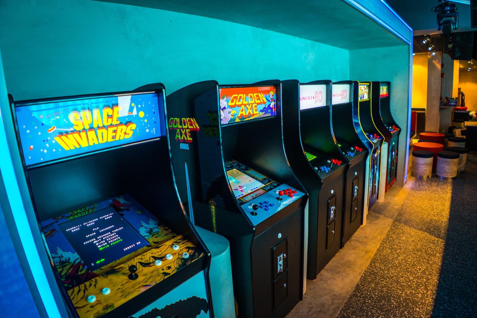 NINETEEN80 – retro arcade bar in Singapore | Asia Bars