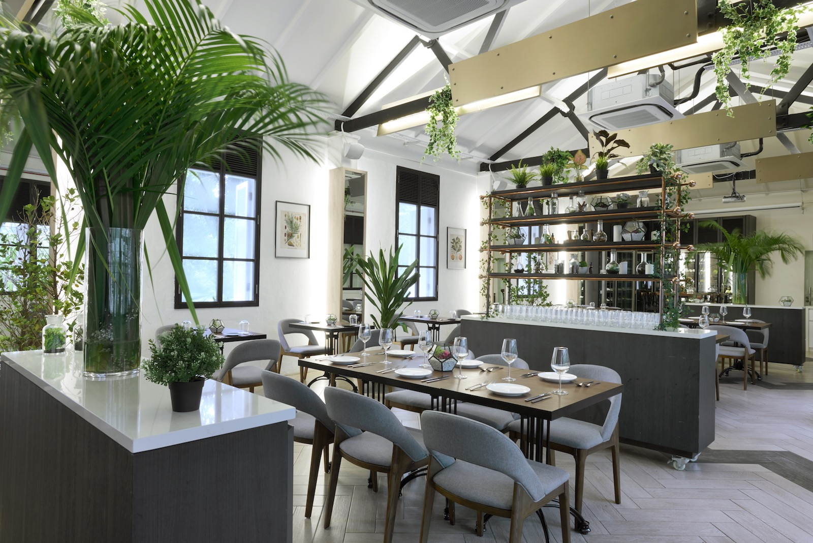 The Garage All Day Dining Options At Singapore Botanic Gardens Asia Bars Restaurants