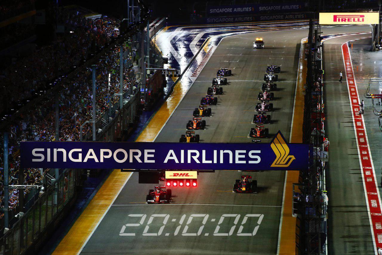 singapore formula 1 race 2018