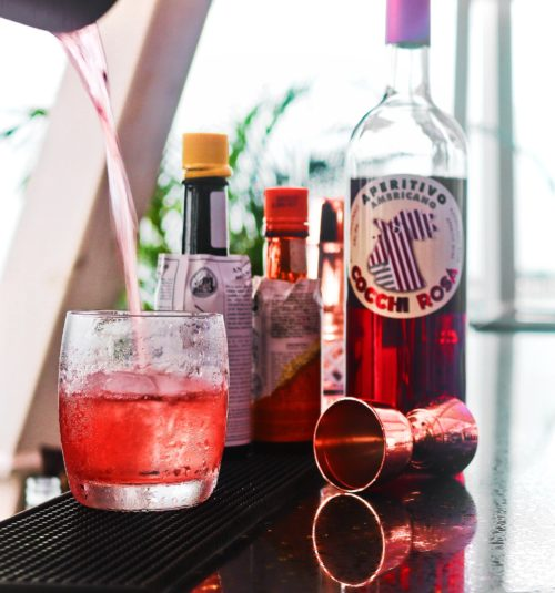 zafferano Cocktail_Cocchi Rosa
