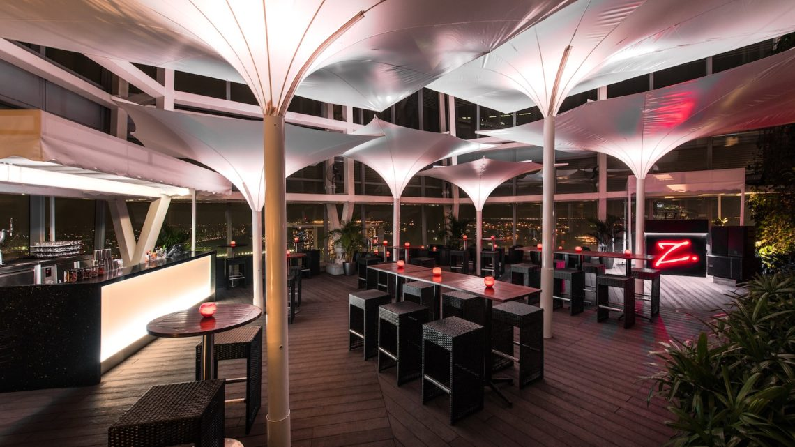 Zafferano_Terrace Lounge_City skyline (night)