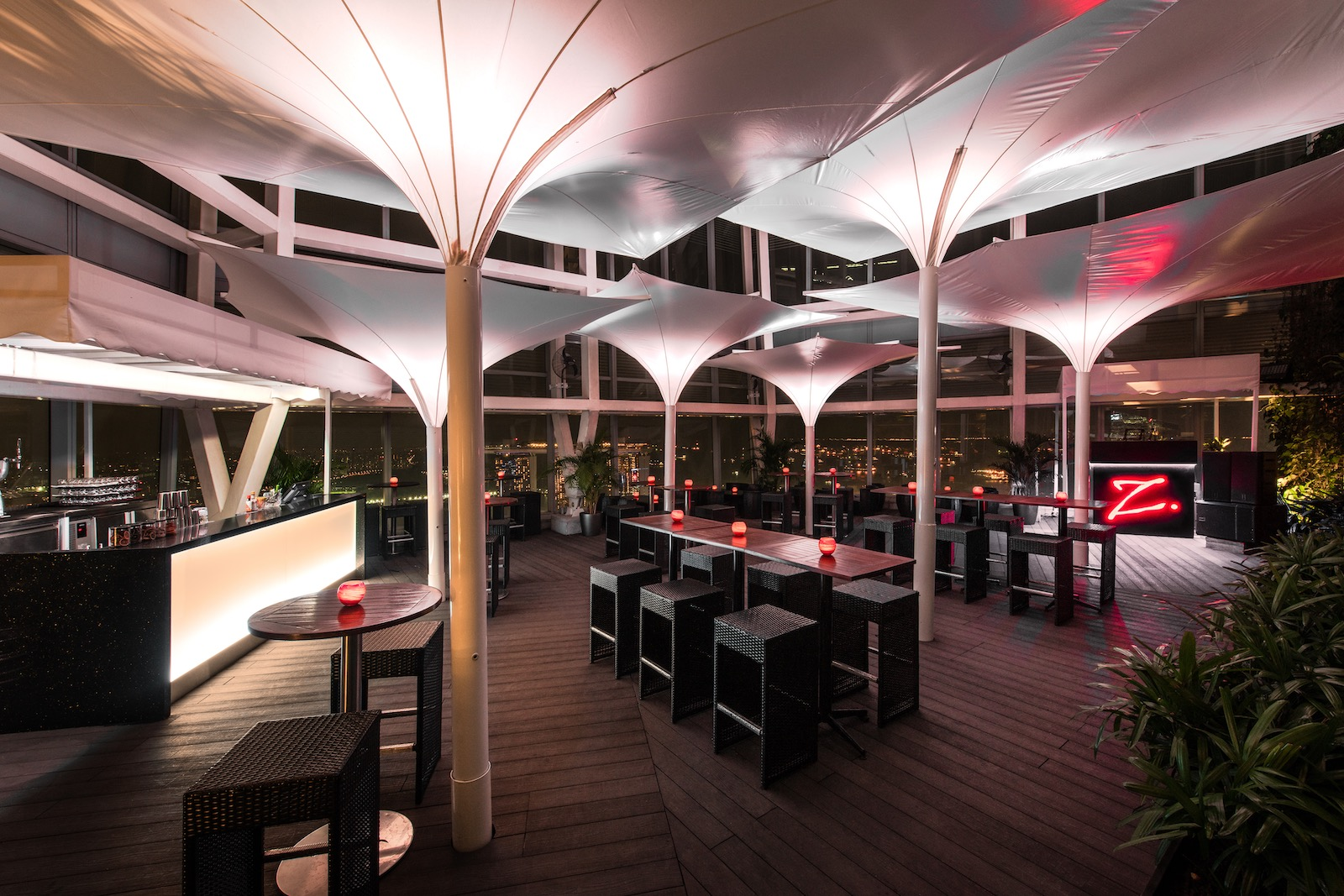 Zafferano Terrace – rooftop lounge in Singapore | Asia Bars & Restaurants