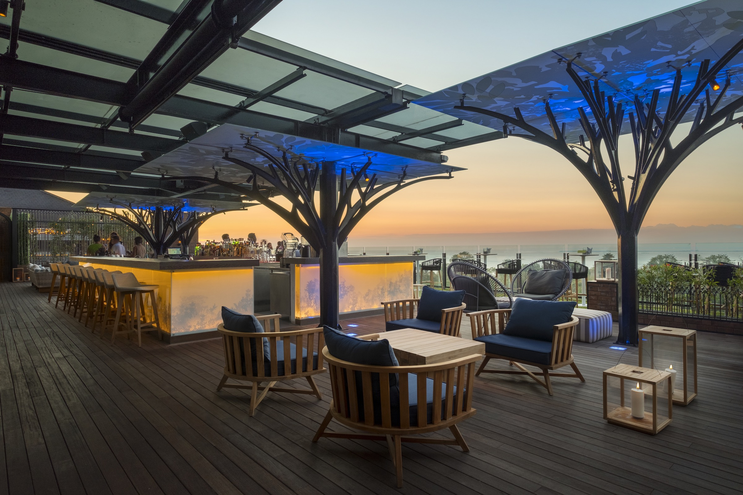 Above Eleven rooftop bar & lounge | Projects | Orbit