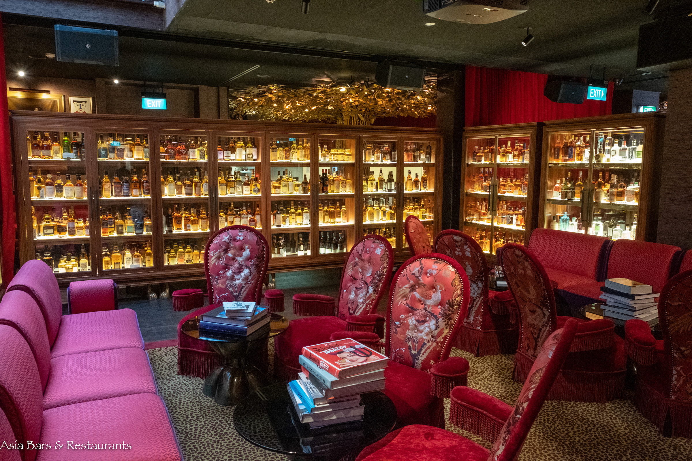 The Whiskey Library Specialist Whisky Bar In Singapore