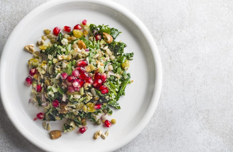 Kale Salad, Seeds & Grains