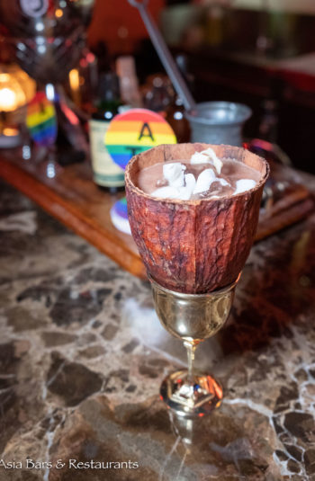 Cacao cocktail