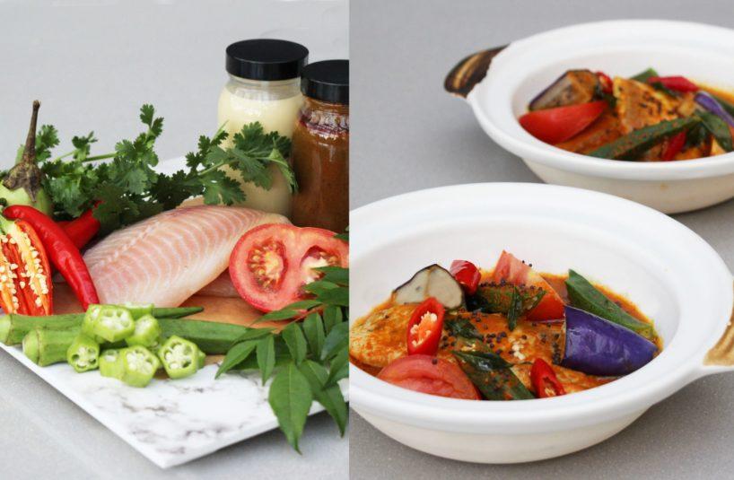 Tilapia Curry Pot