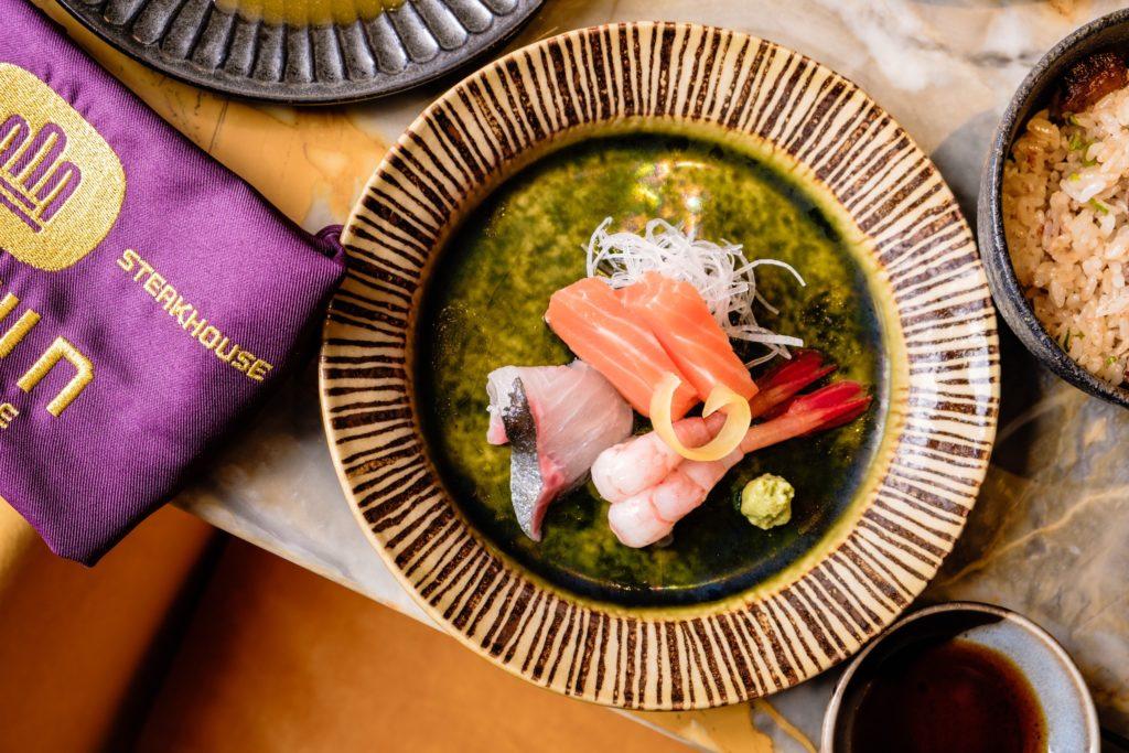 crown super deluxe teppanyaki